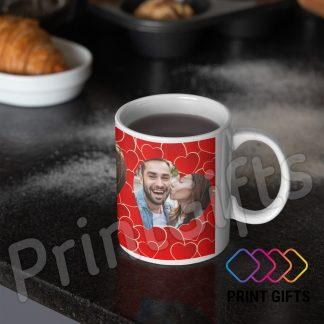 чаша с две снимки